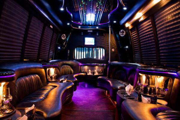 15 Person Party Bus Rental San Antonio